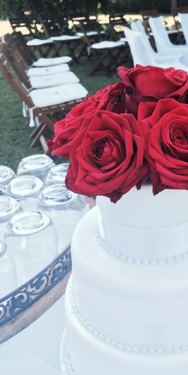Hochzeitstorte Rote Rosen Tortenschmiede